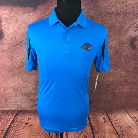 dedb91de NFL Carolina Panthers TX3 Cool Polo Shirt Small Boutique